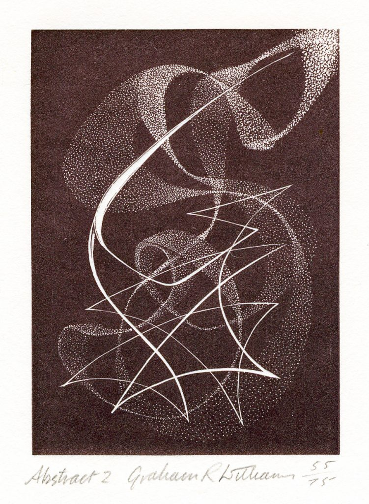 Abstract 2 - wood engraving