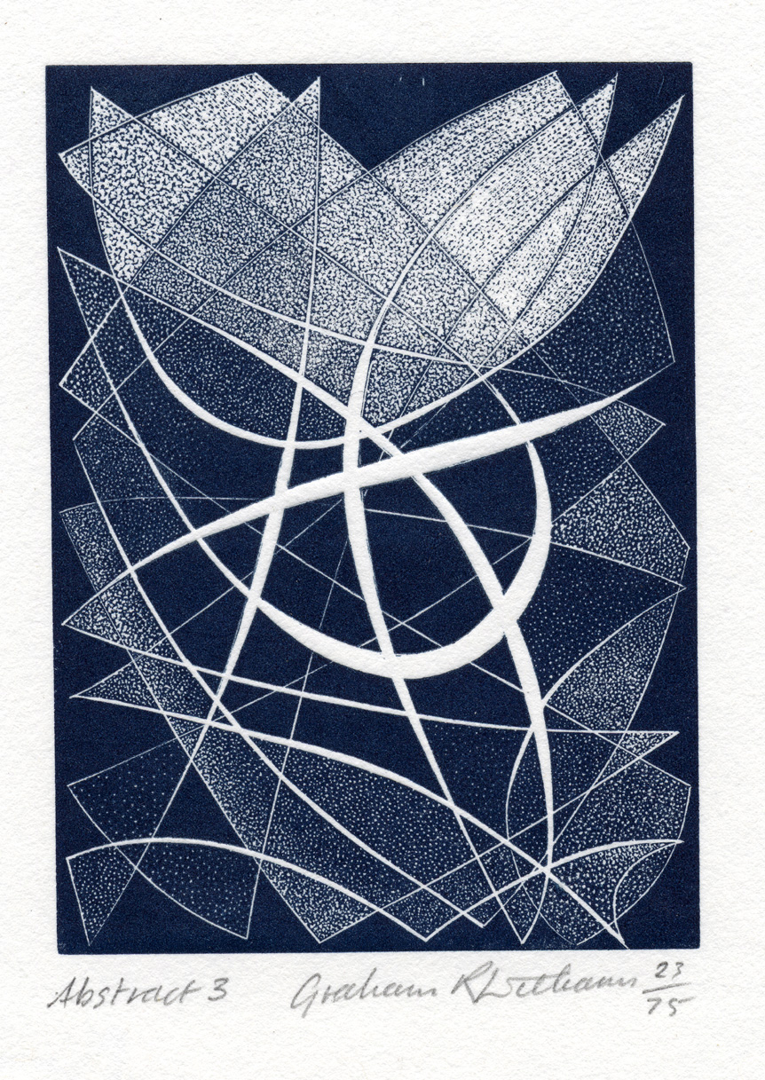 Abstract 3 - wood engraving