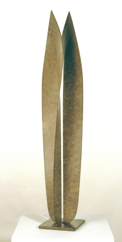 Folded Leaves - bronze