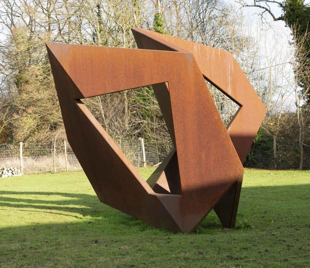 Pasture Piece - corten steel 2