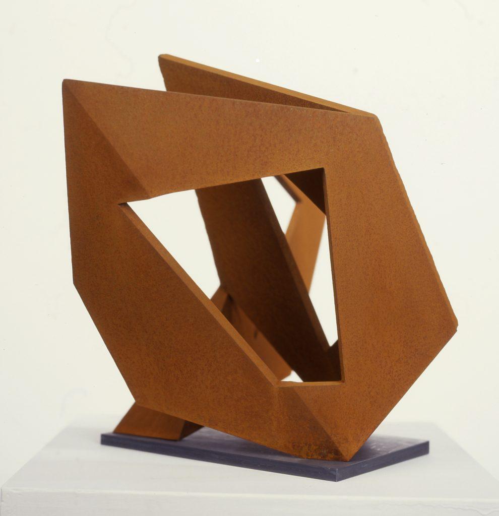 Pasture Piece - model - corten steel
